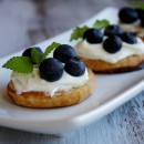Fresh Blueberry Bruschetta