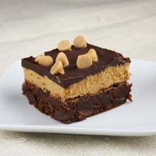 Peanut Butter Cookie Dough Brownies 9