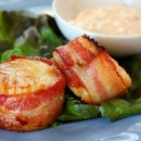 Bacon Wrapped Scallops 5