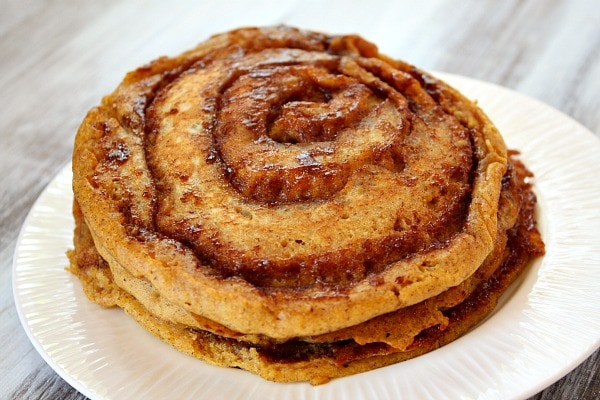 Cinnamon Swirl Pancakes Food Network Recipe