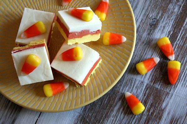 Candy Corn Fudge - Mibba