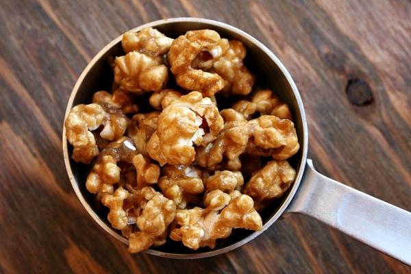 Caramel Corn Hot Chocolate - RecipeGirl