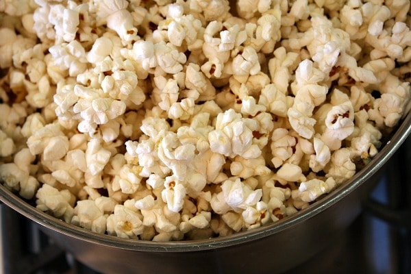 Popping Popcorn on the Stove