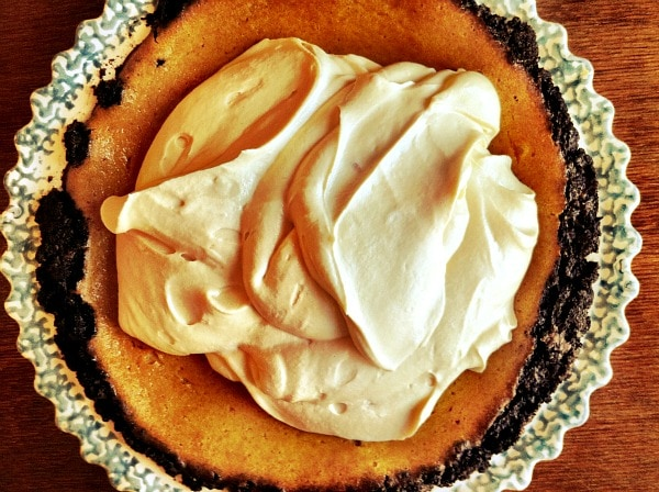 Pumpkin Caramel Whipped Cream