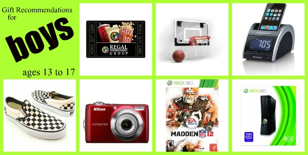 Toys For Boys Ages 11 13 : Gift ideas for boys of all ages