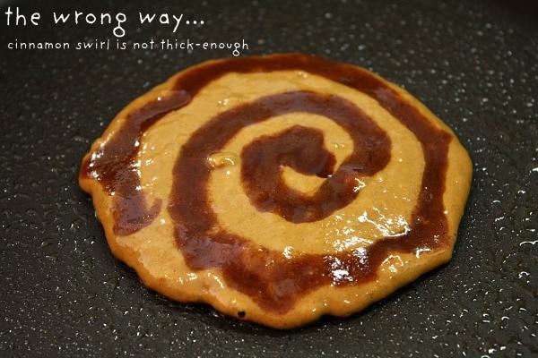 Gingerbread Cinnamon Roll Pancakes 5