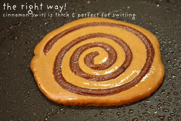 Gingerbread Cinnamon Roll Pancakes 6
