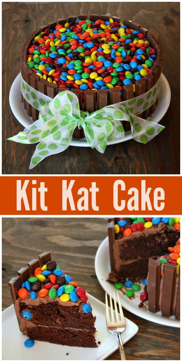 I Have Some Fun News Today Its My Birthday Yay And Made A Kit Kat Cake Yum Watch The Video Showing You How To Make This