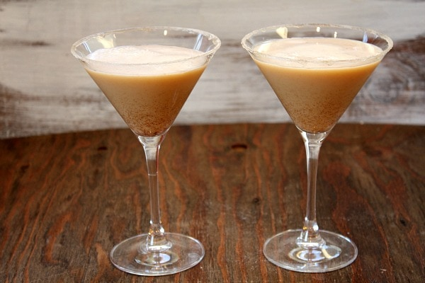 Pumpkin Eggnog Martini 7
