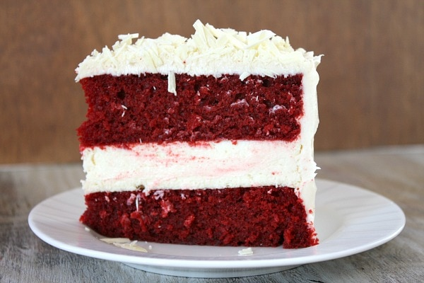 Red Velvet Cheesecake Cake Recipe Girl