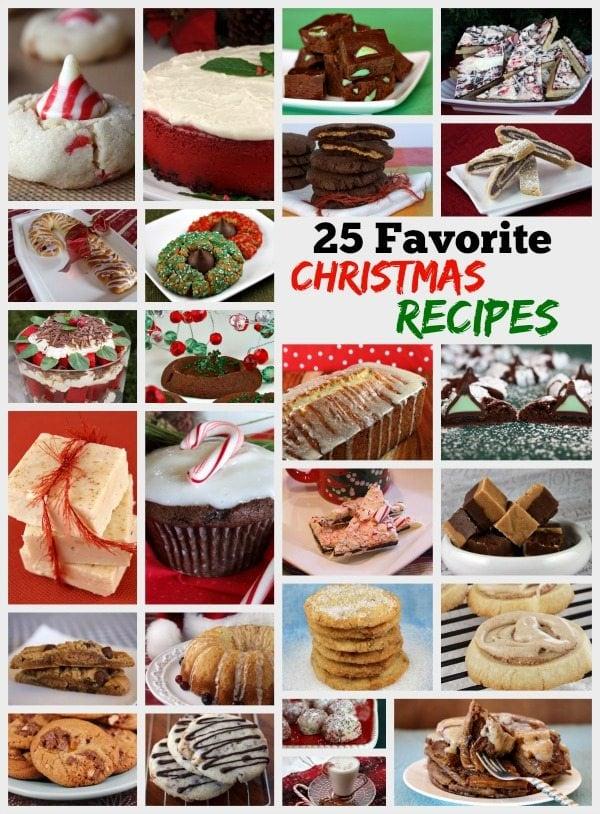 25 Favorite Christmas Recipes