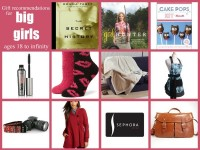 Gift Ideas for Girls ages 18 to infinity