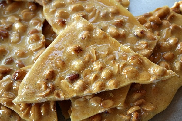 Easy recipe for Homemade Peanut Brittle - recipe by RecipeGirl.com