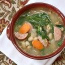Bean and Sausage Soup 12