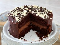 Chocolate Cheesecake Cake 8