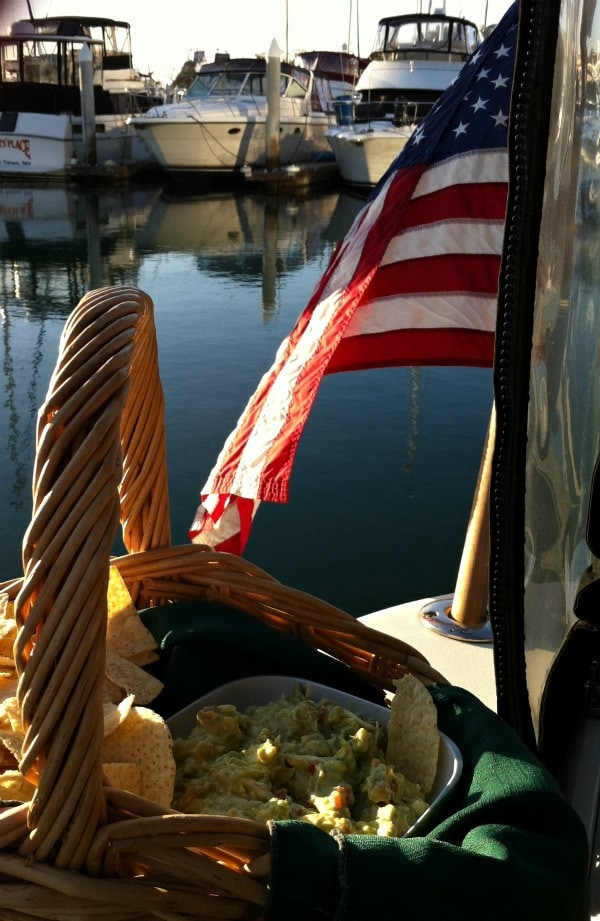 Crab Guacamole on the Bay