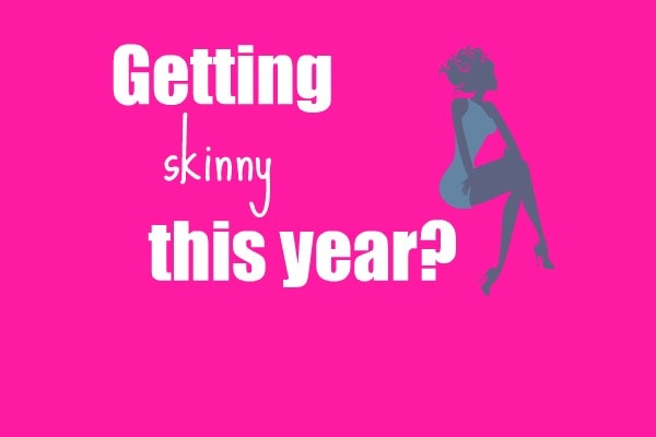 how to get skinny fast without exercise