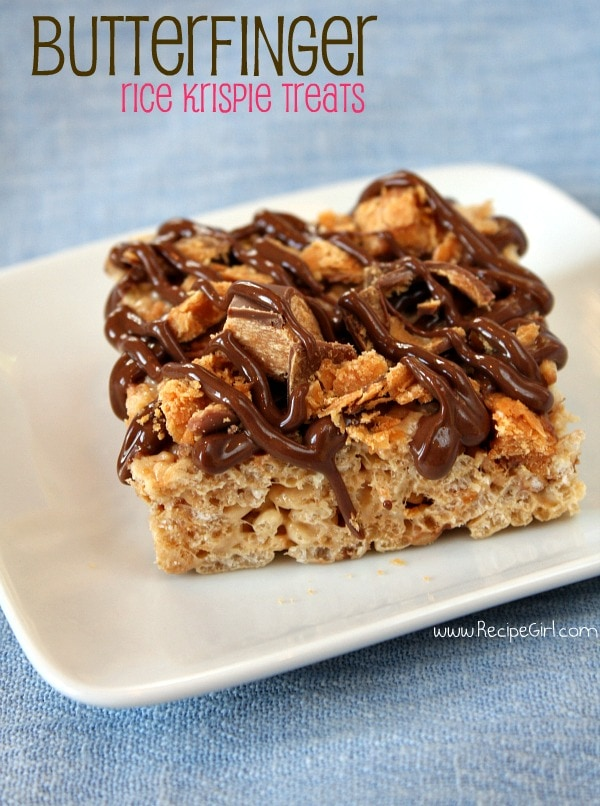 treats chocolate peanut butter cup layered krispie treats rice krispie ...