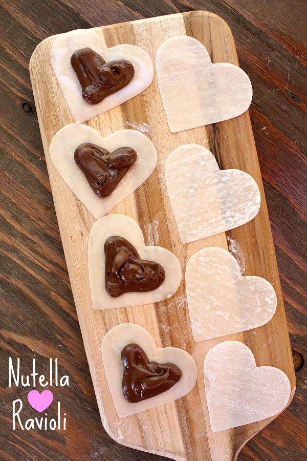Nutella Heart Ravioli 5