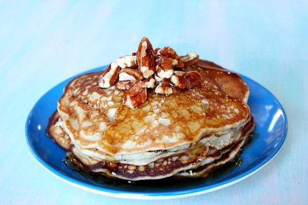 Banana Pecan Pancakes 1