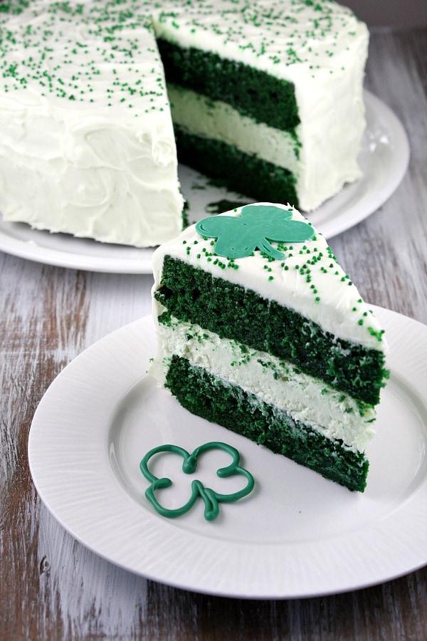 Easy Green Velvet Cake Recipe
