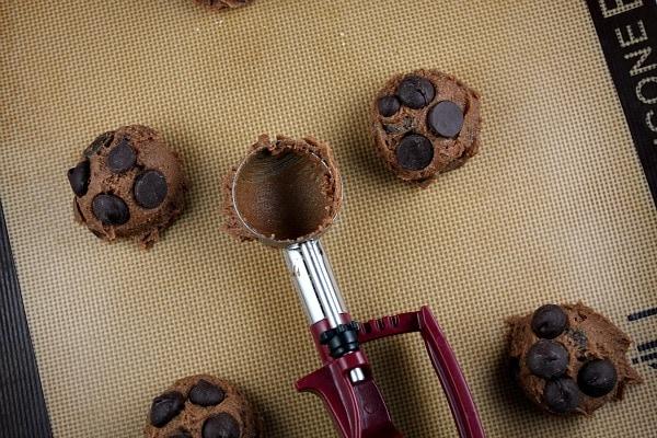 malted dark chocolate chip cookie dough