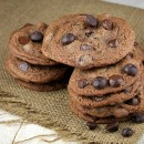 Malted Dark Chocolate Chip Cookies 6