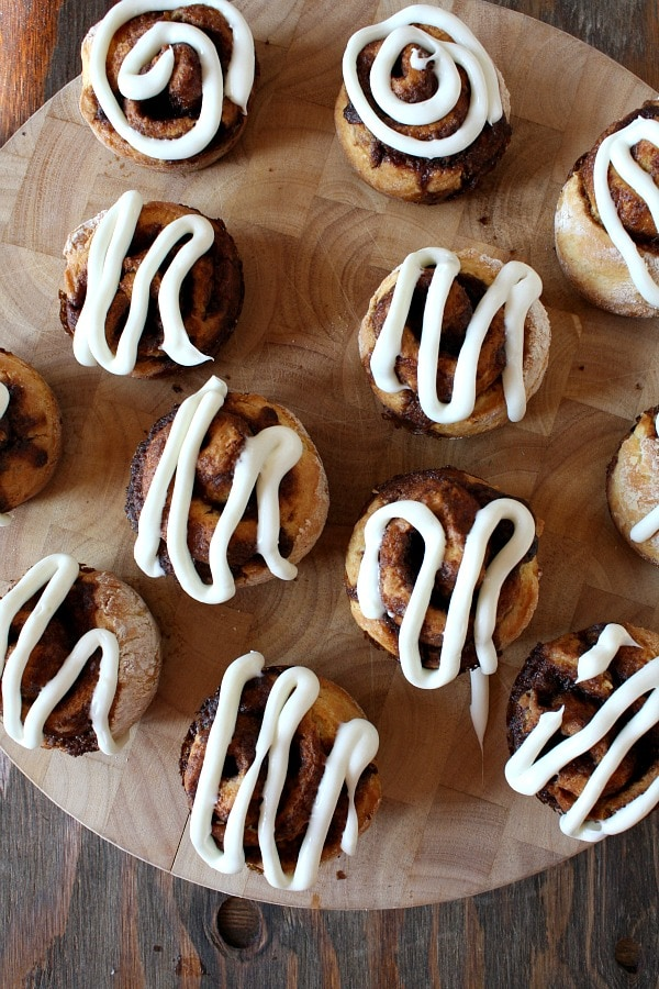 Onbloggers: No yeast Cinnamon Rolls