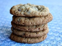 Peanut butter Chocolate Chip Cookies with Sea Salt 7