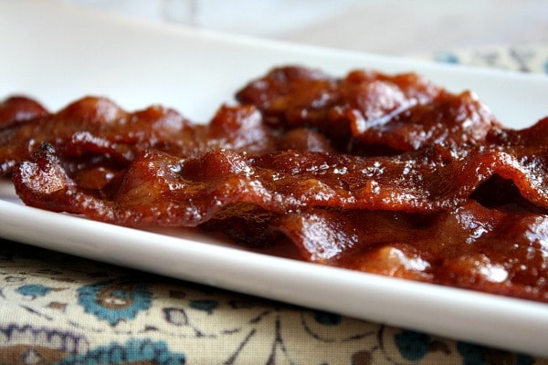 platter of Candied Bacon