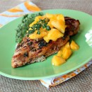 Balsamic- Mango Marinated Grilled Chicken 1