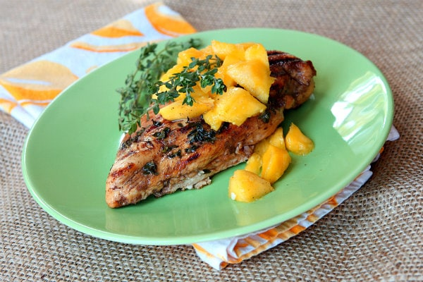 grilling recipe of the summer balsamic mango marinated grilled chicken