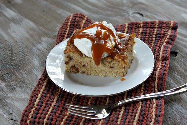 This recipe for Cinnamon- Caramel Bread Pudding is elegant enough to ...
