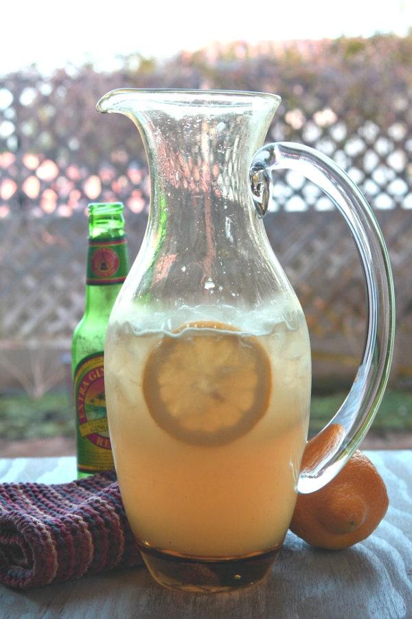Ginger Beer Lemonade