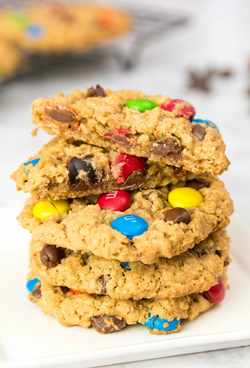 Monster Cookies - Recipe Girl