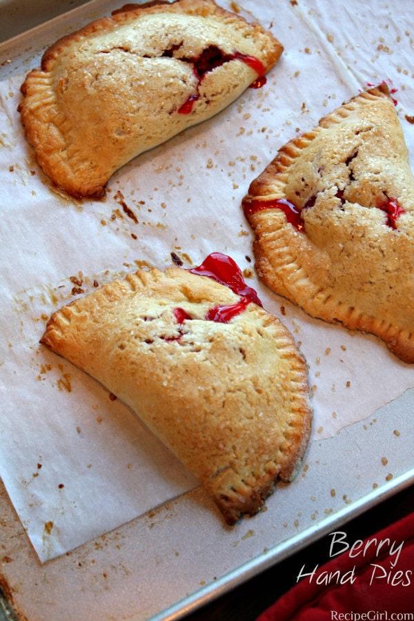"Berry Hand Pies – ""Pie it Forward"" Cookbook"