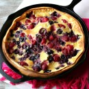 Double Berry Puff Pancake 1