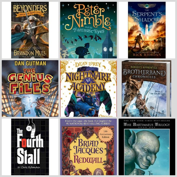 Book Recommendations for Boys aged 10 to 14 | RecipeBoy