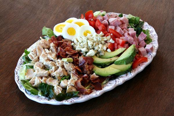 Classic Cobb Salad Recipe — Dishmaps