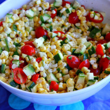 Fresh Corn Salad 1