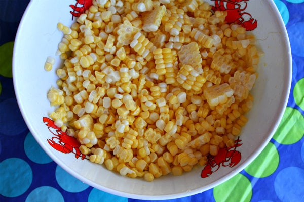 ... sweet corn. The sweeter and fresher your corn, the better your salad