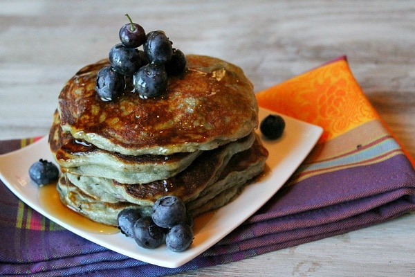 Greek Yogurt Pancakes recipe - from RecipeGirl.com