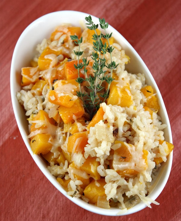 baked rice with butternut squash i ve always enjoyed butternut