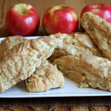 Caramel Apple Scones 1