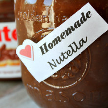 Homemade Nutella 1