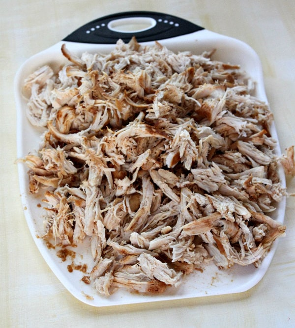 Pulled Barbecued Chicken