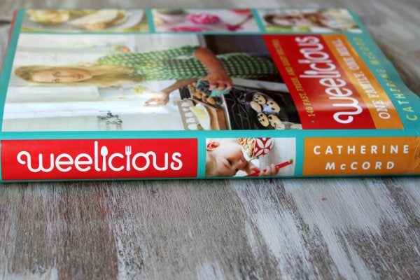 The Weelicious Cookbook cover