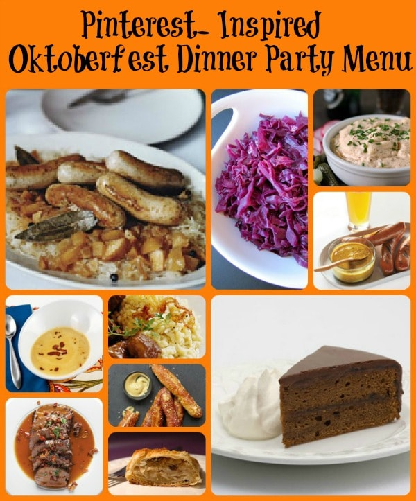Nice Gourmet Menu Ideas For Dinner Party Part - 9: Oktoberfest Dinner Party (Pinterest- Inspired)