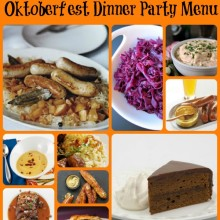 Pinterest Inspired Oktoberfest Dinner Party Menu