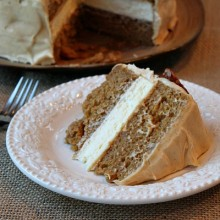 Pumpkin Cheesecake Cake 1